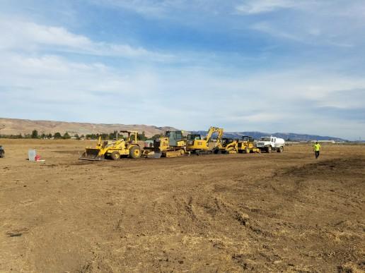 Excavation work, Santa Cruz