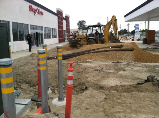 Shopping Center Excavation and Asphalt Service in Hollister, CA