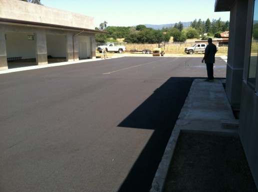 Paved and Sealcoated Road_Santa Cruz