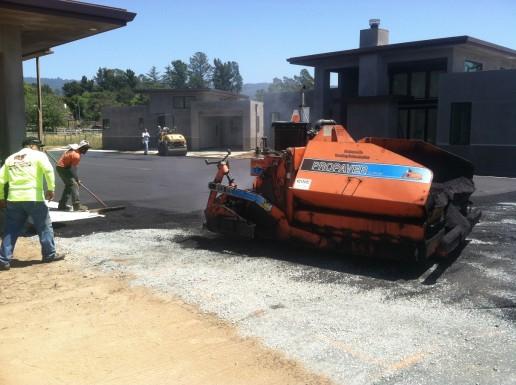 Propaver Unit Working on Roadway_Watsonville Grading