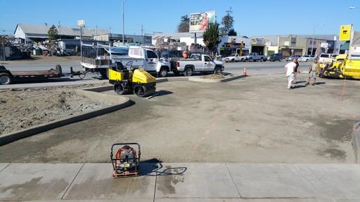 excavation equipment, watsonville