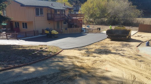 paving preparation, residential