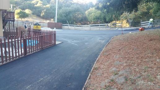 view of asphalt driveway