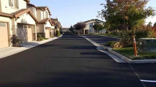 Black Freshly Paved Road_Santa Cruz_Watsonville